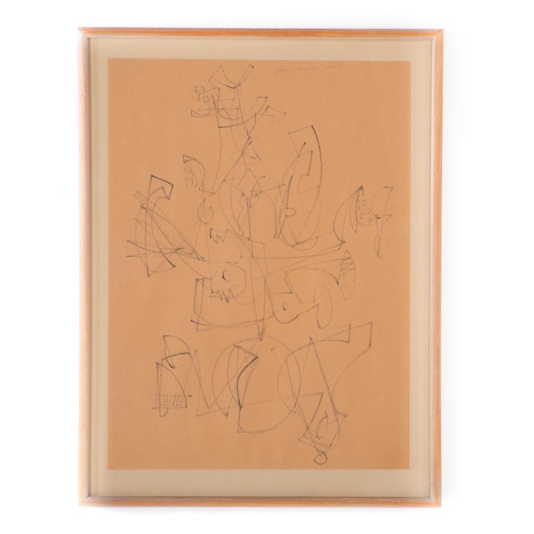 Keith Martin. Chimera V, drawing