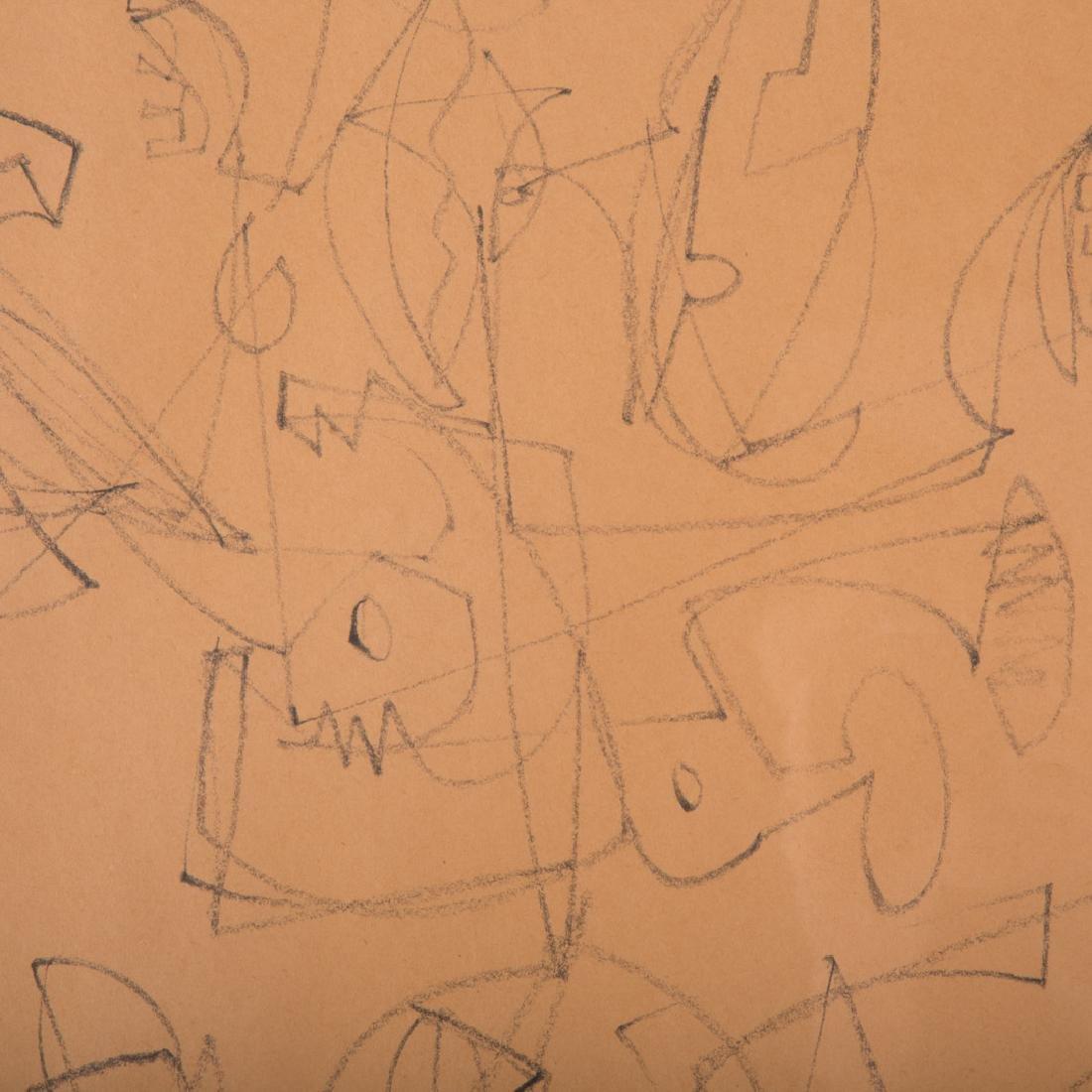 Keith Martin. Chimera V, drawing - 2