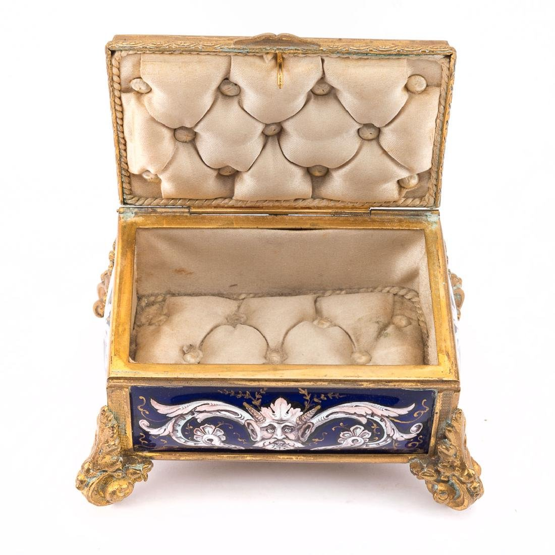 Limoges enamel box - 4