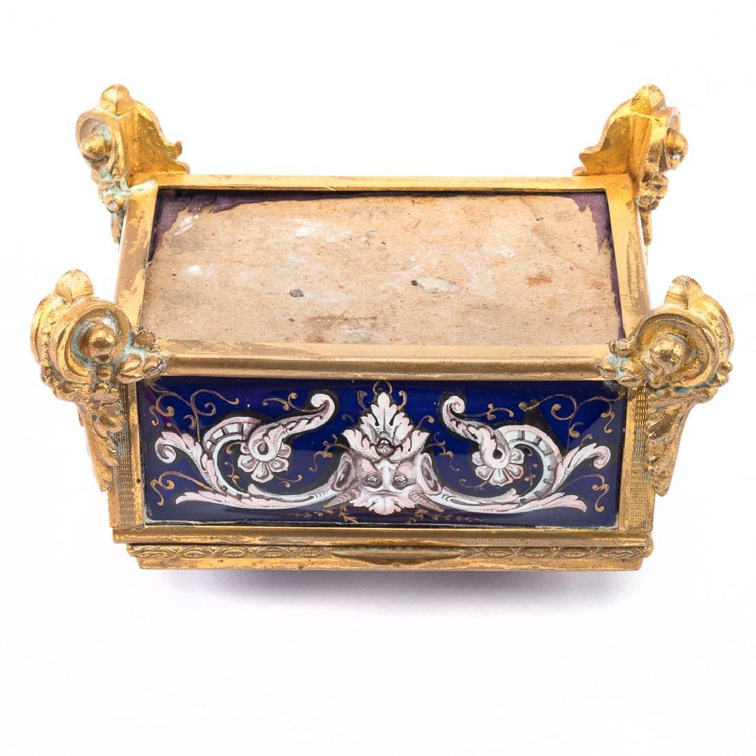 Limoges enamel box - 5