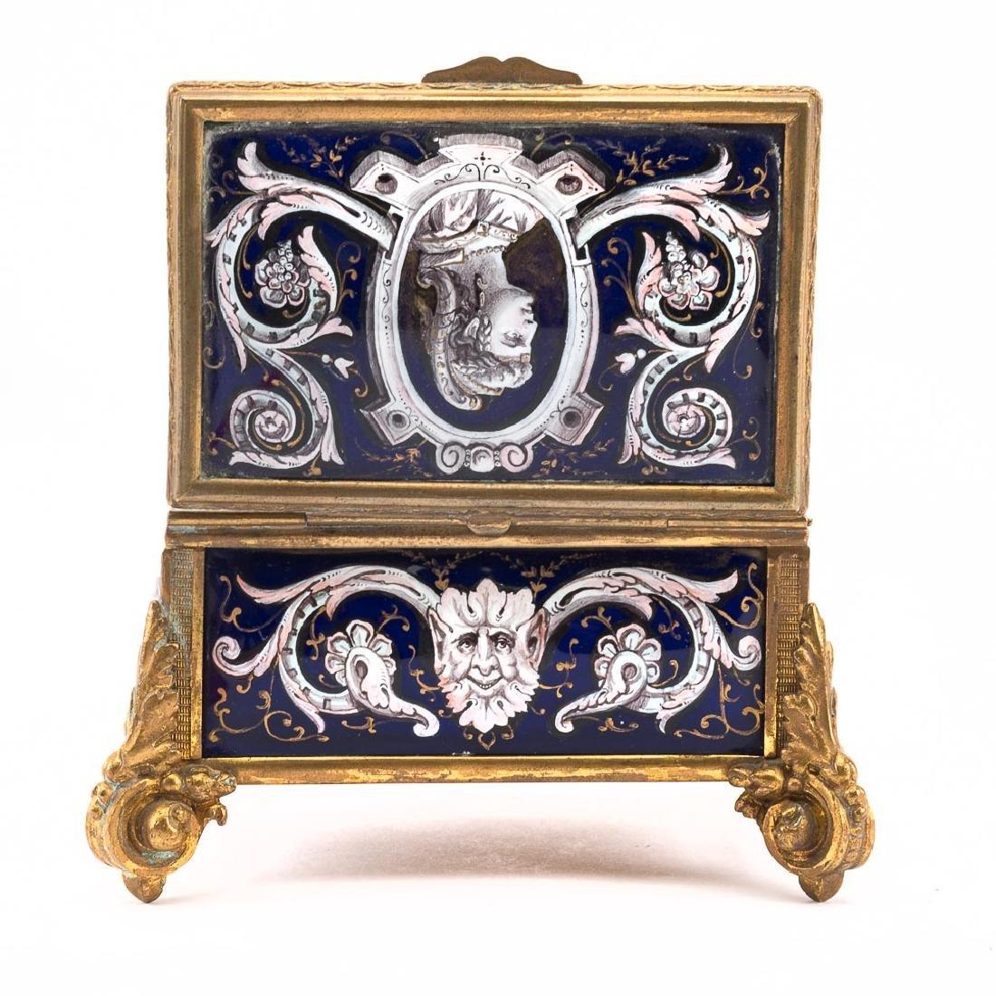 Limoges enamel box - 6