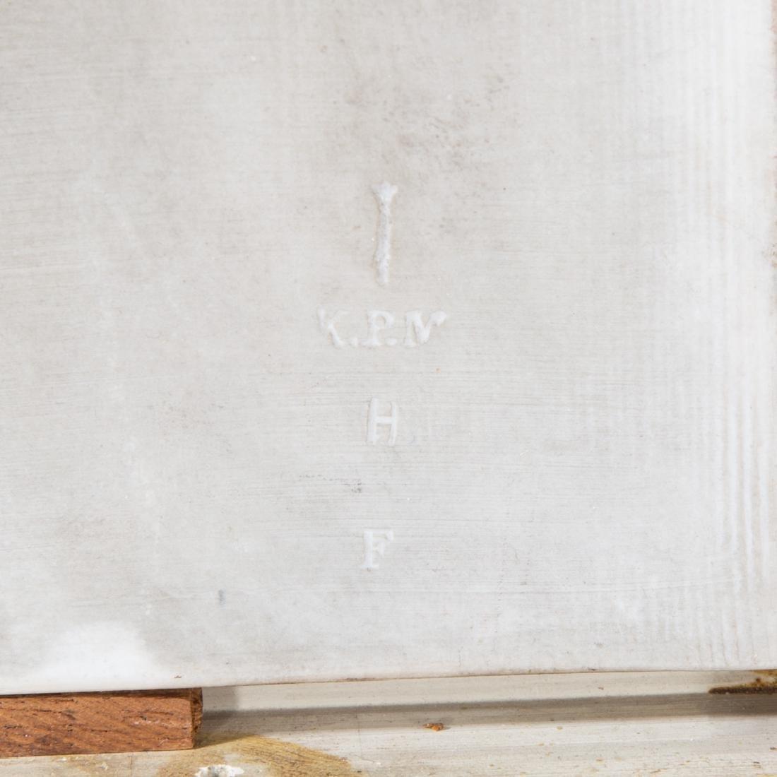 KPM porcelain plaque - 7