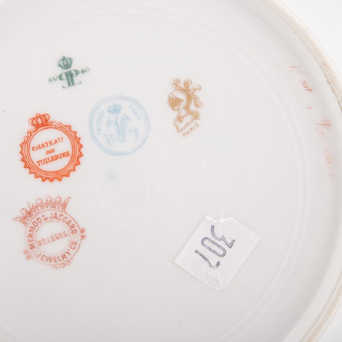 Four pieces French porcelain - 10