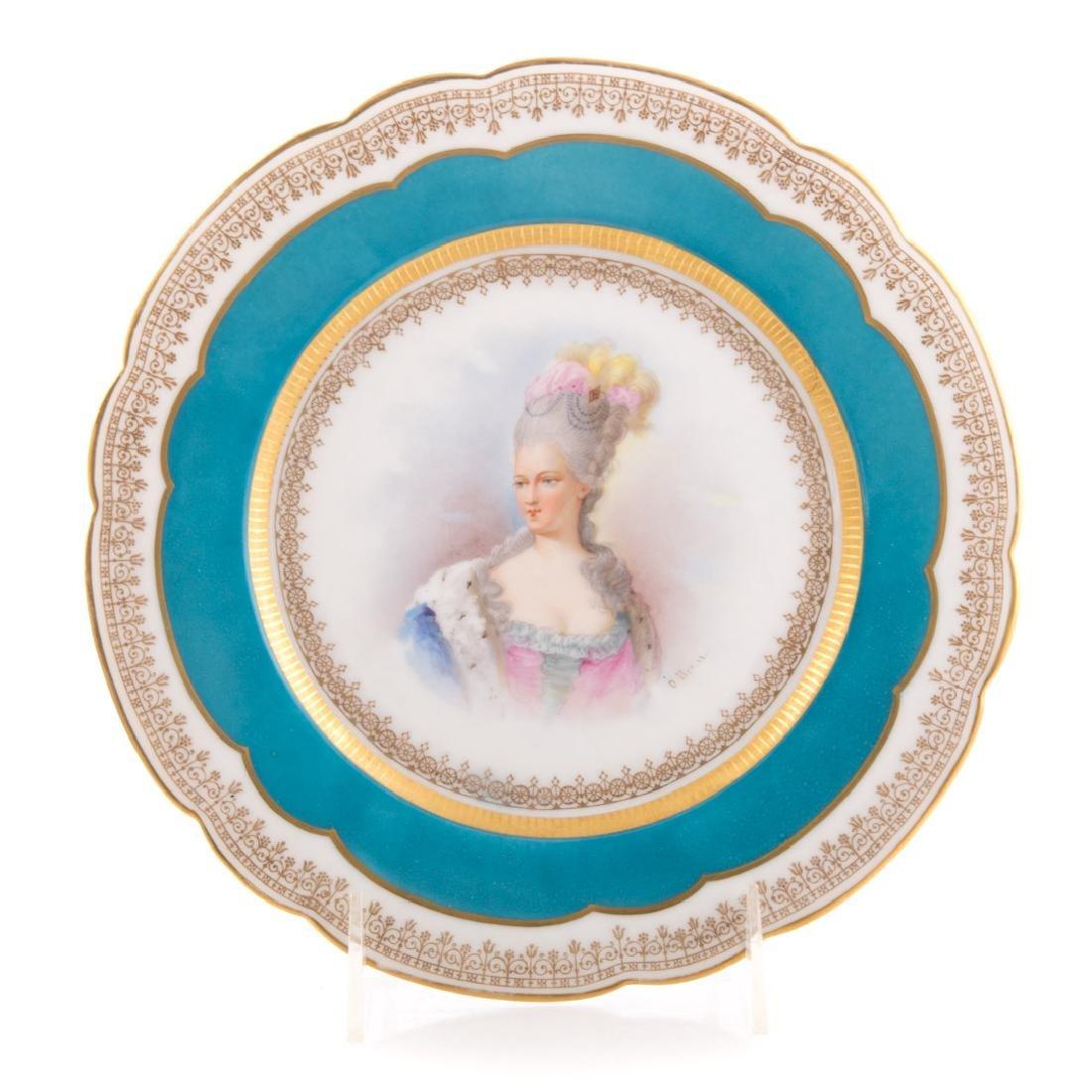 Four pieces French porcelain - 2