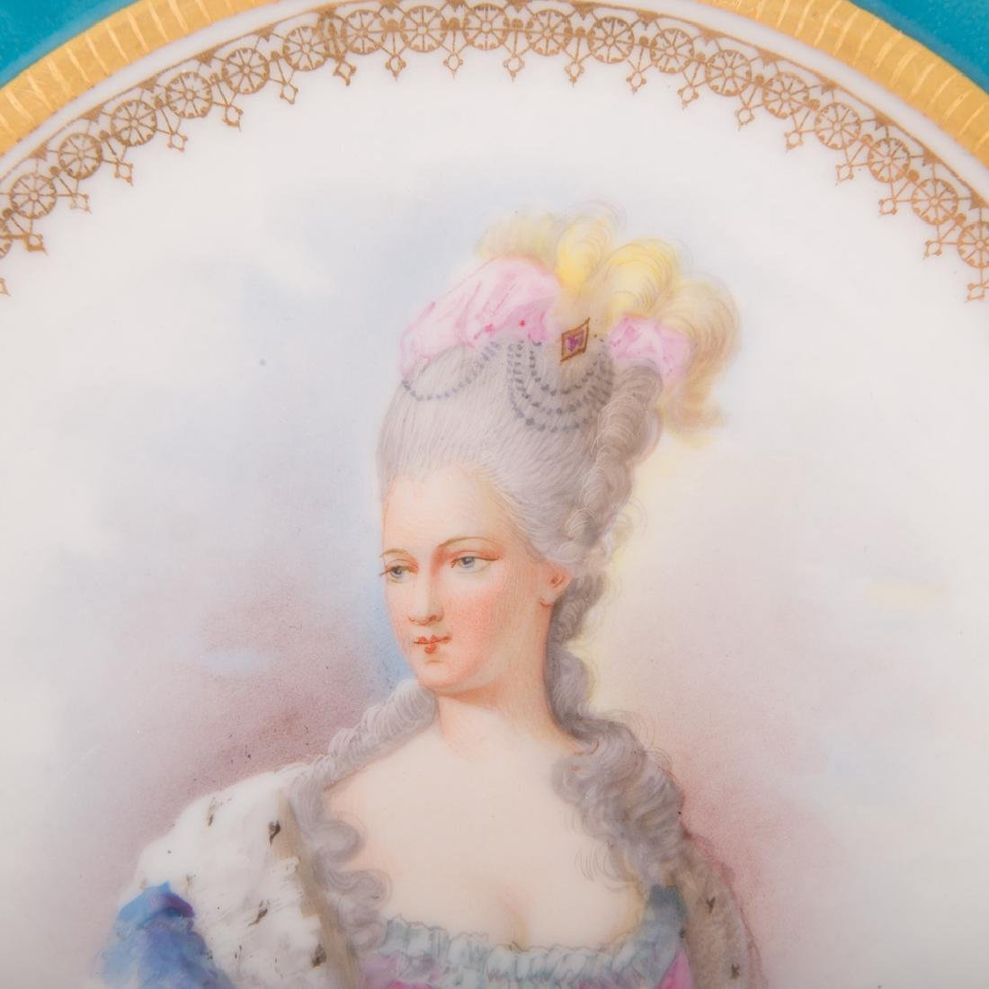 Four pieces French porcelain - 4