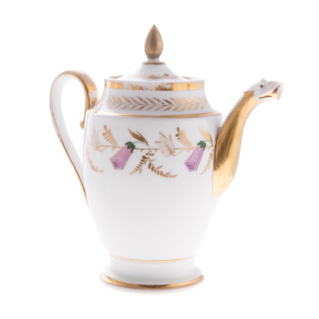 Four pieces French porcelain - 5