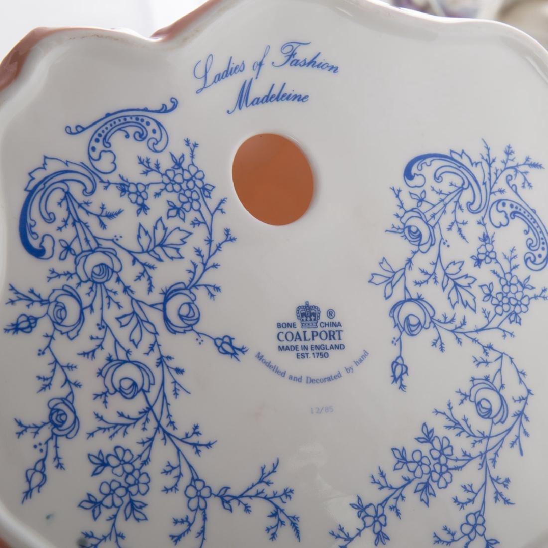 Six porcelain figures of ladies - 3
