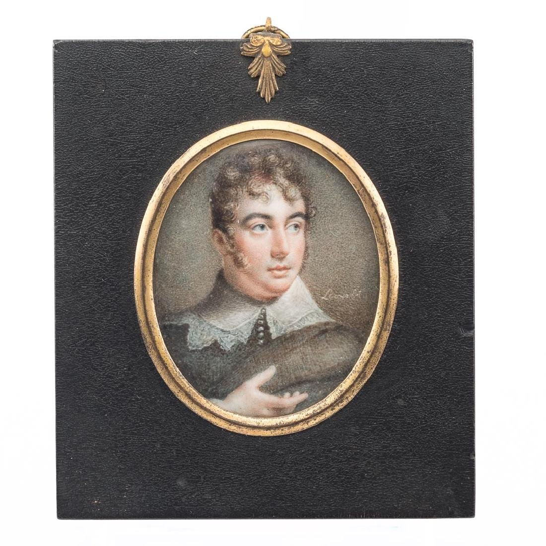 Samuel Lover. Portrait of a Gentleman, miniature