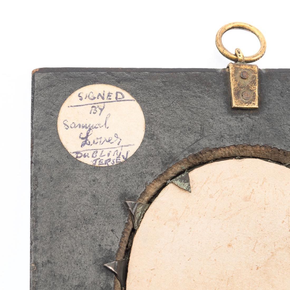 Samuel Lover. Portrait of a Gentleman, miniature - 3