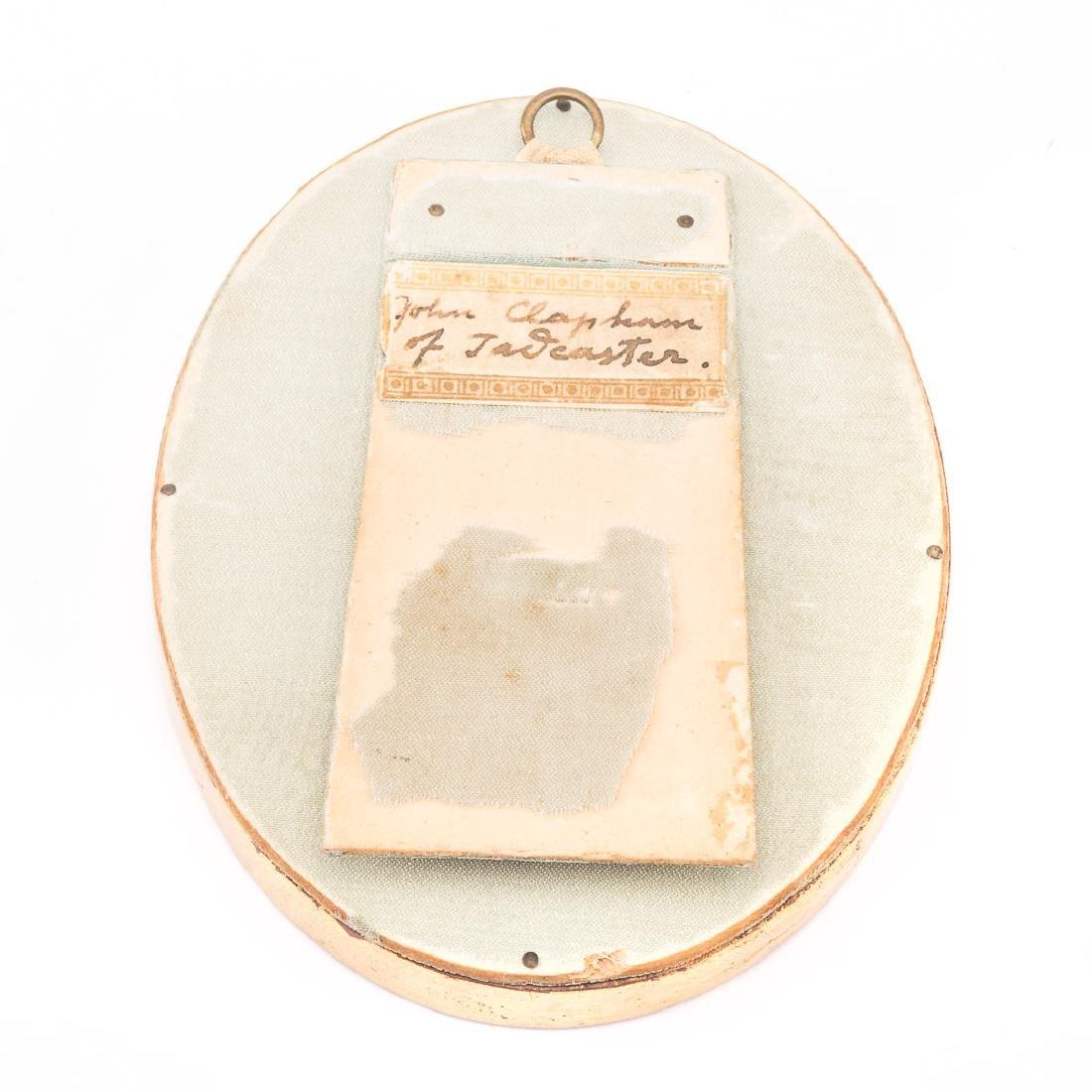 John Clapham. Portrait of F. Lancaster, miniature - 2