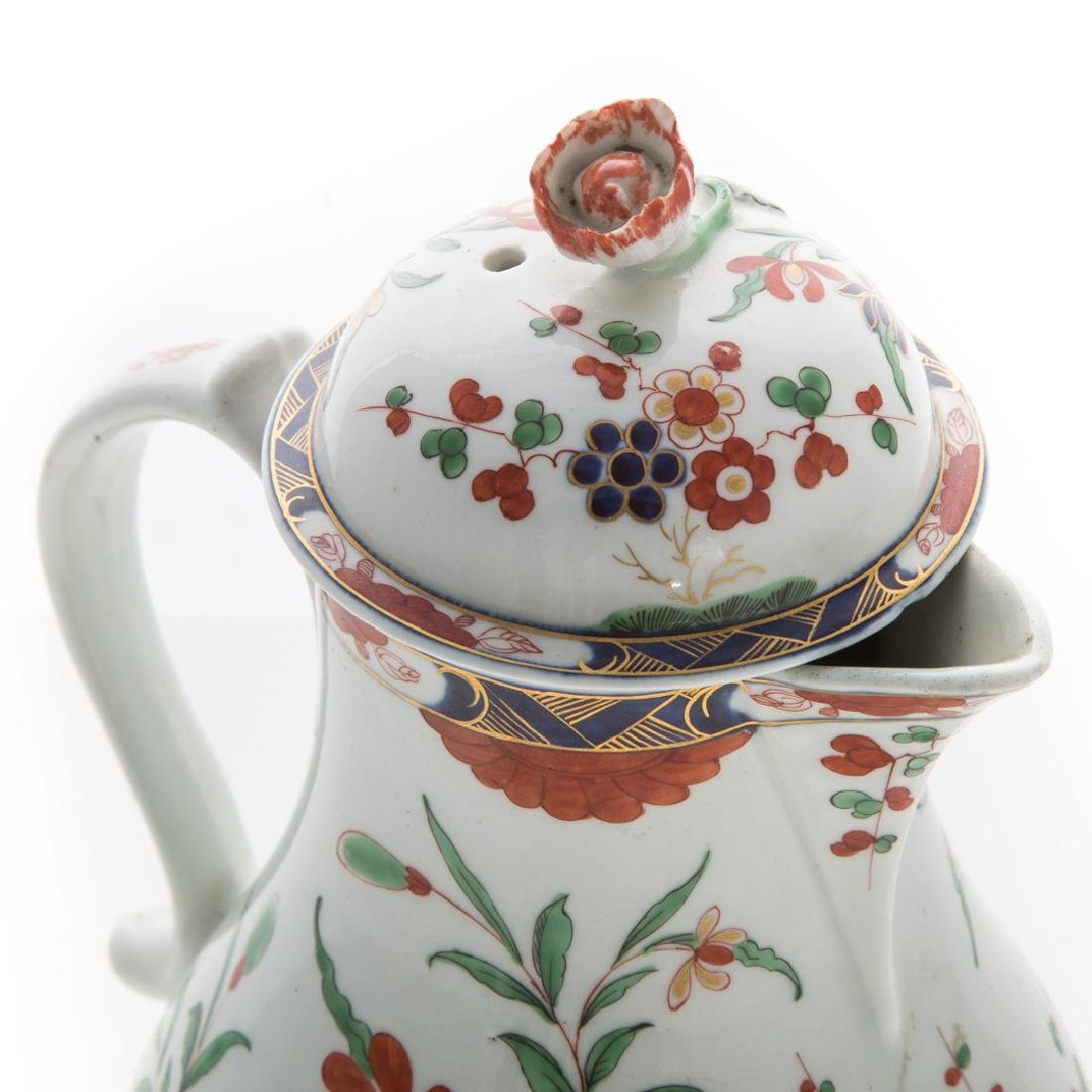 Worcester pearlware chocolate pot - 2