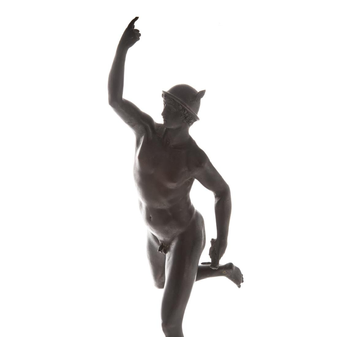 After Giambologna. Mercury Grande Tour bronze - 2