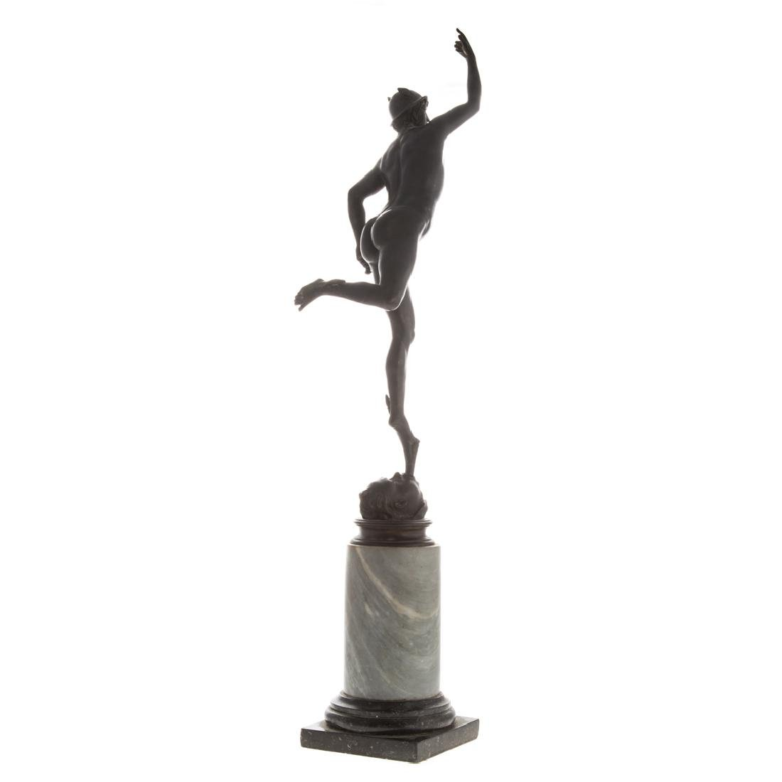After Giambologna. Mercury Grande Tour bronze - 4