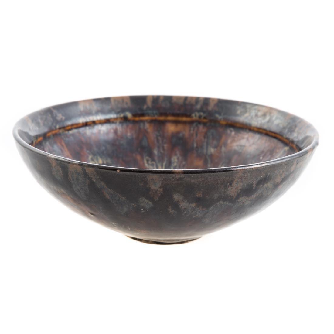 Chinese tortoiseshell glazed bowl