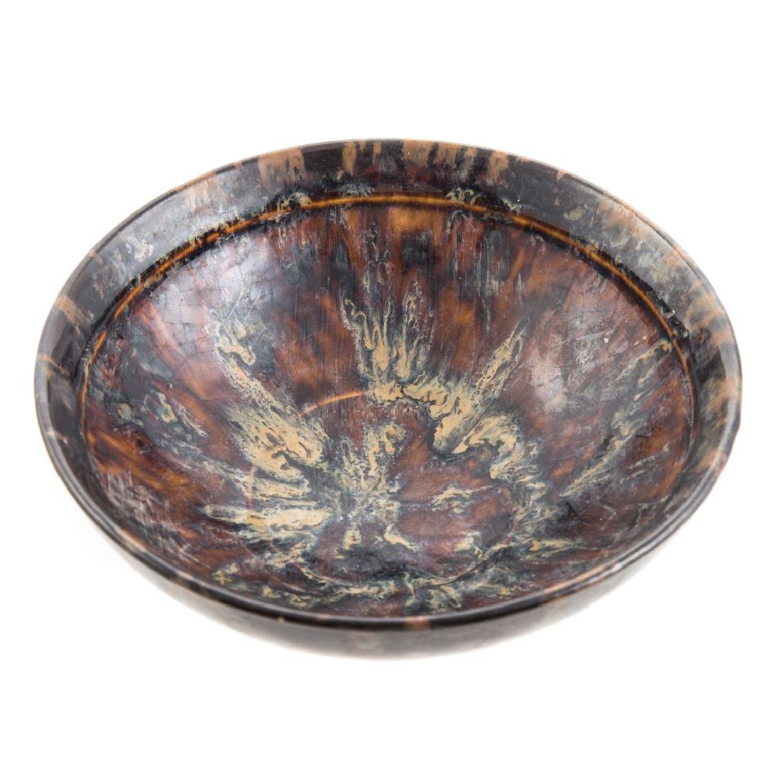 Chinese tortoiseshell glazed bowl - 2