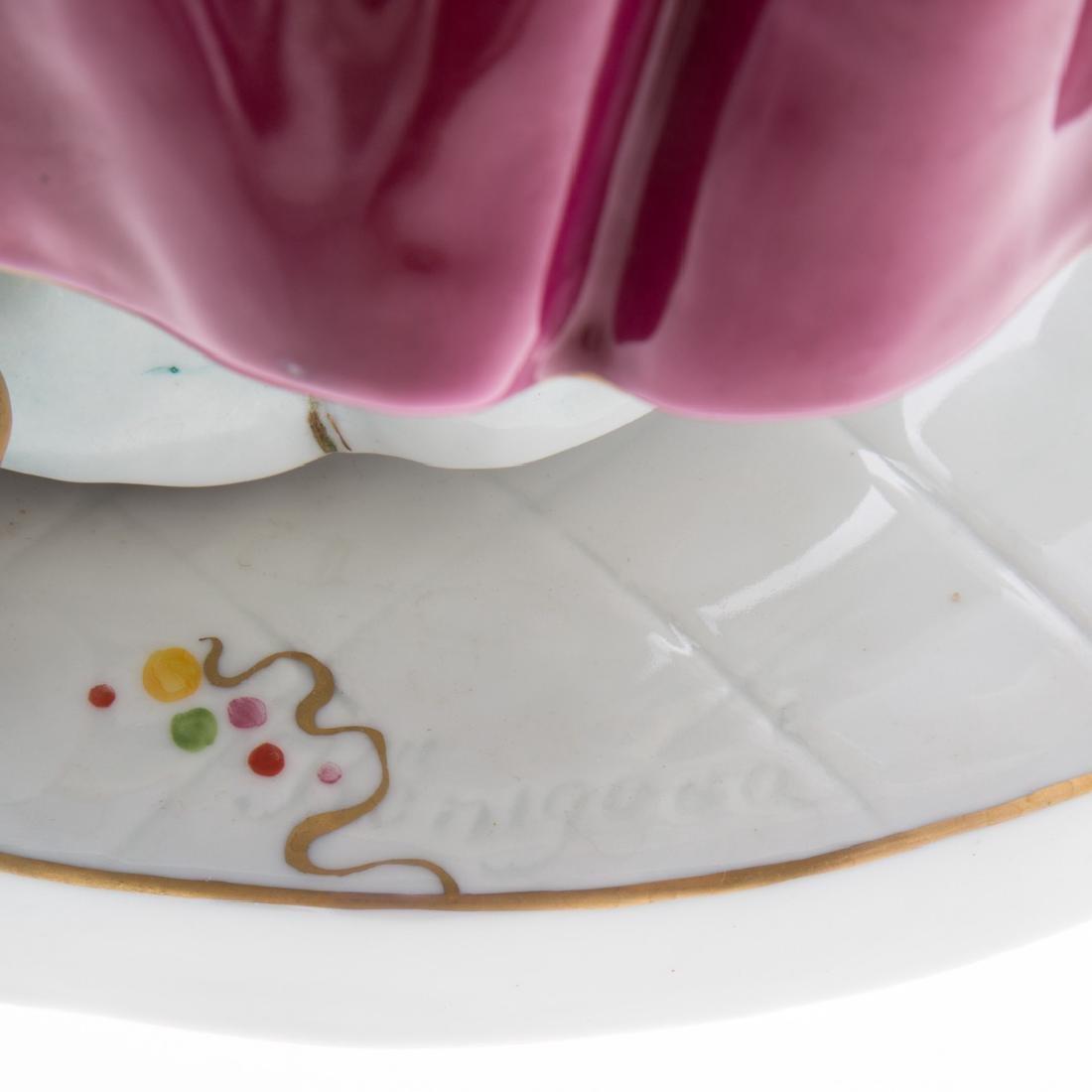 Large Royal Dux porcelain figural group - 4