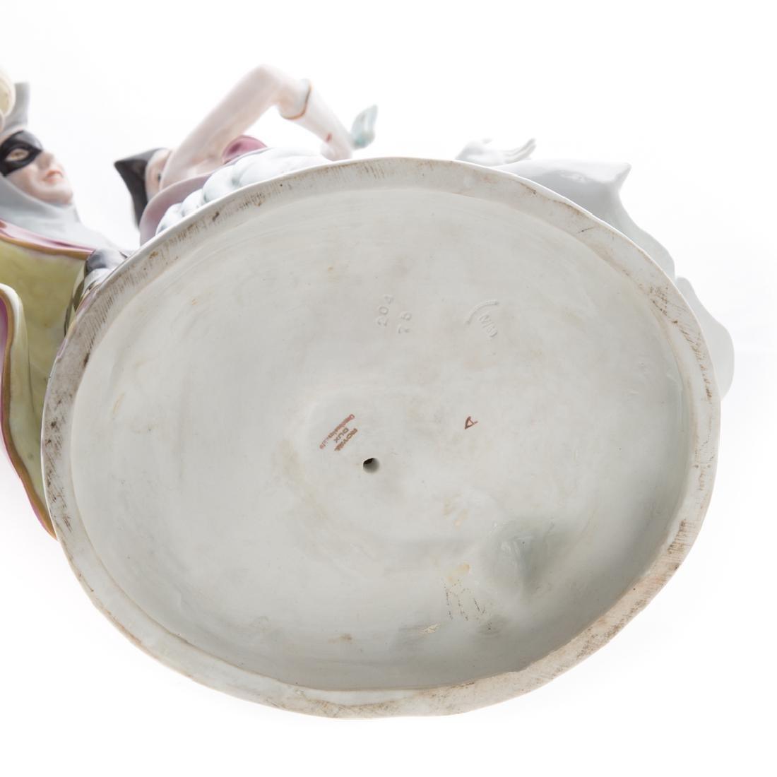 Large Royal Dux porcelain figural group - 5
