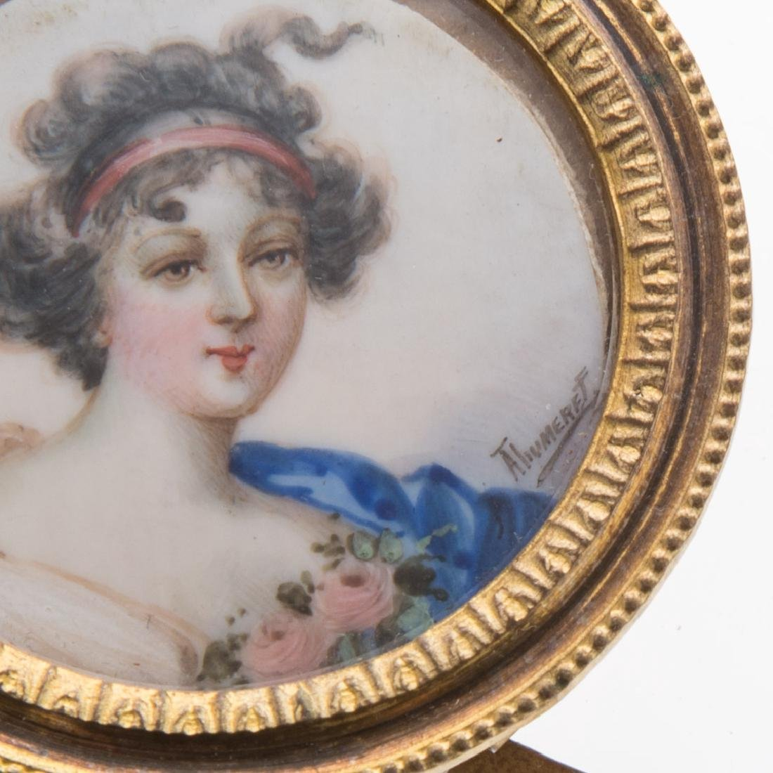 French School 19th century portrait miniature - 2