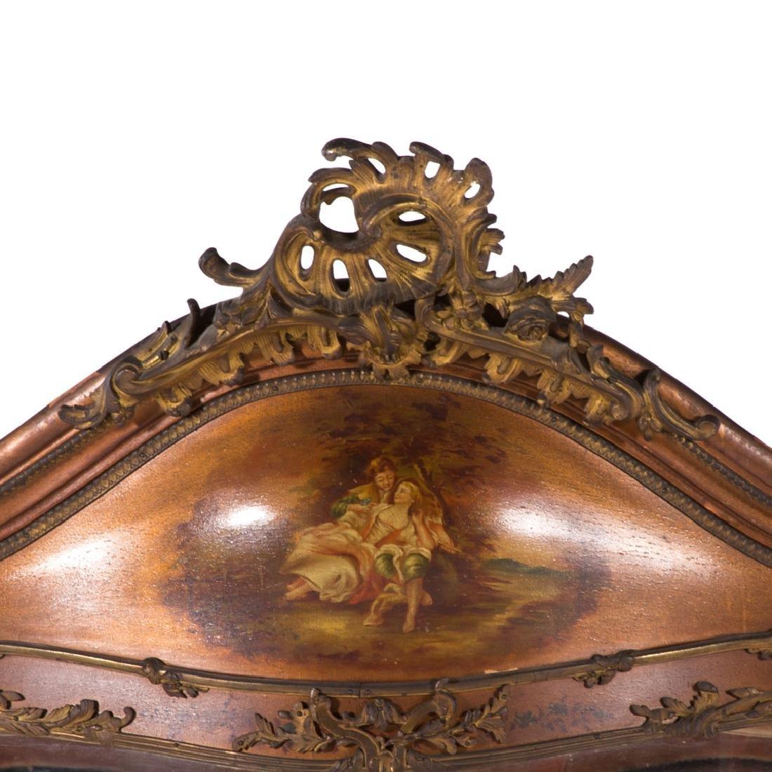 Louis XV style bombe Vernis Martin vitrine - 2