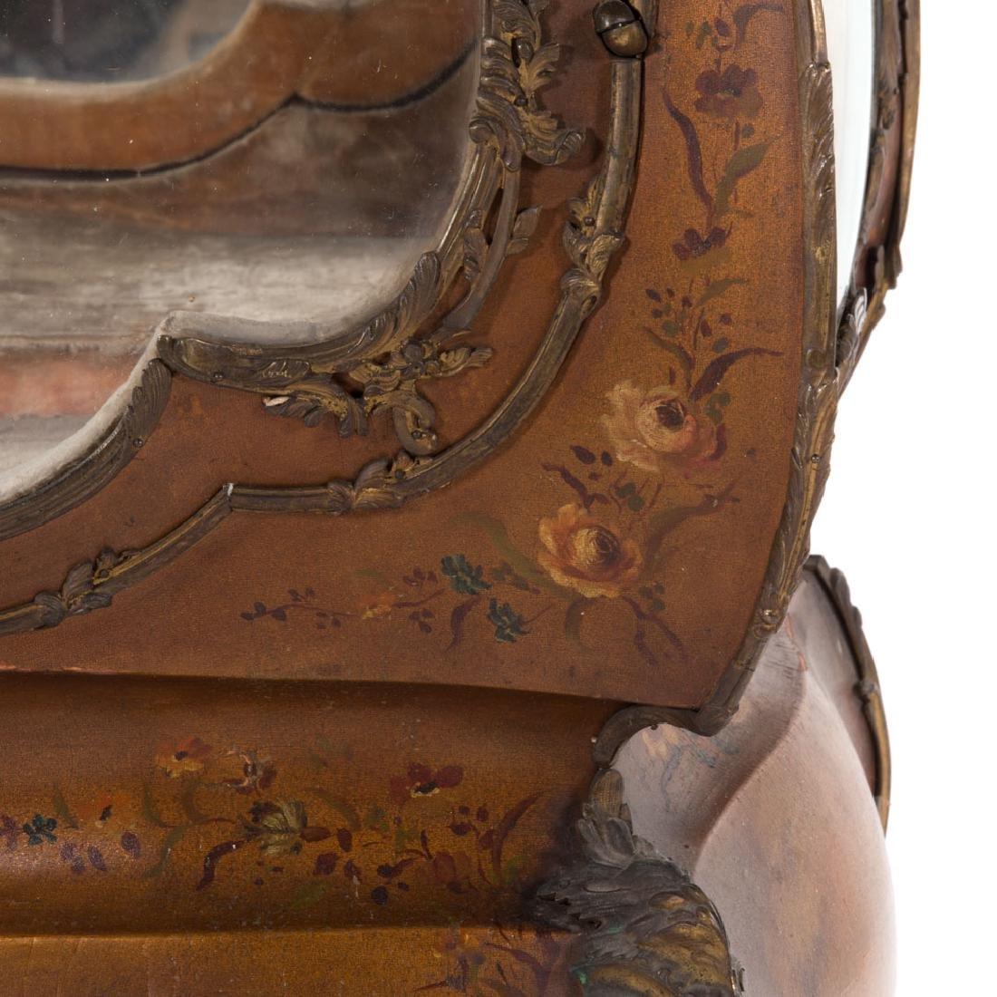 Louis XV style bombe Vernis Martin vitrine - 6