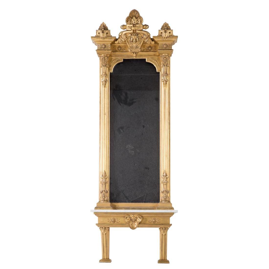 Renaissance Revival giltwood pier mirror