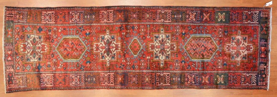Persian Karaja runner, approx. 3 x 10.2
