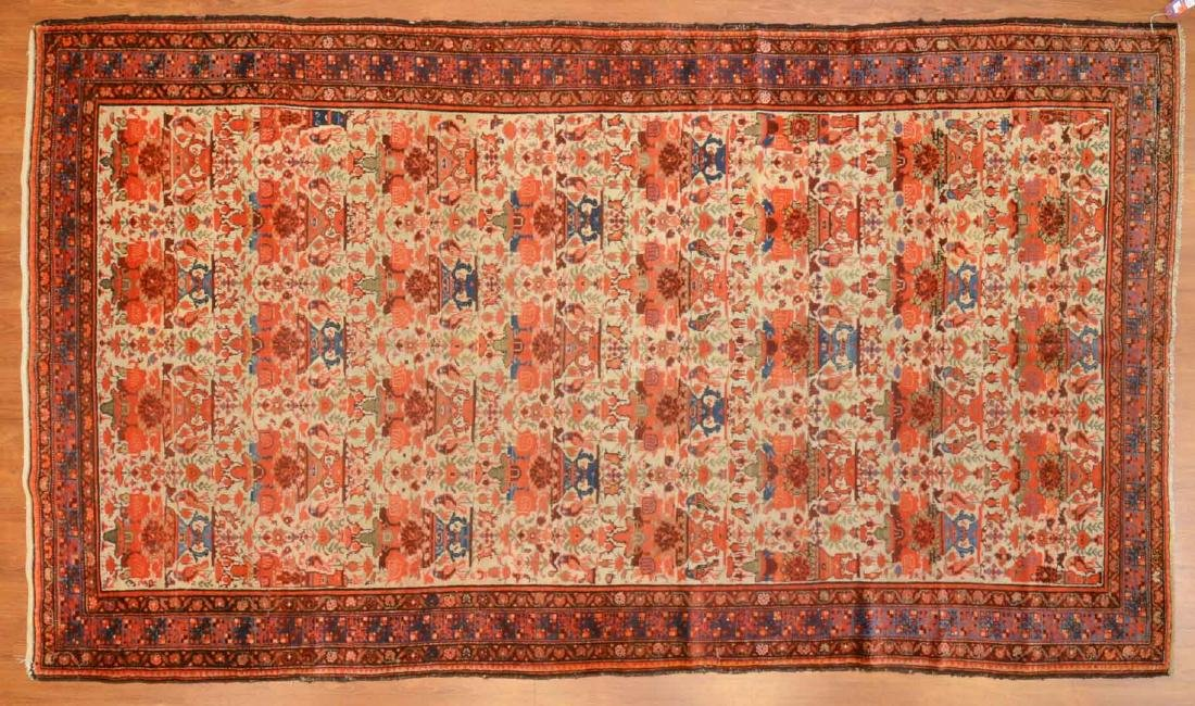 Antique Malayer gallery rug, approx. 5.5 x 9.8