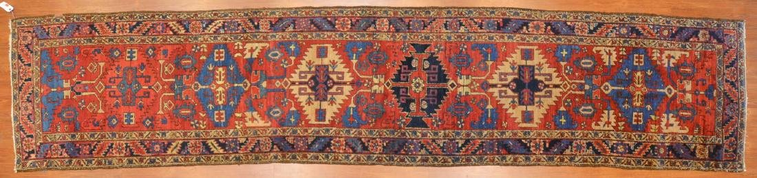 Persian Herez runner, approx. 3 x 14.5