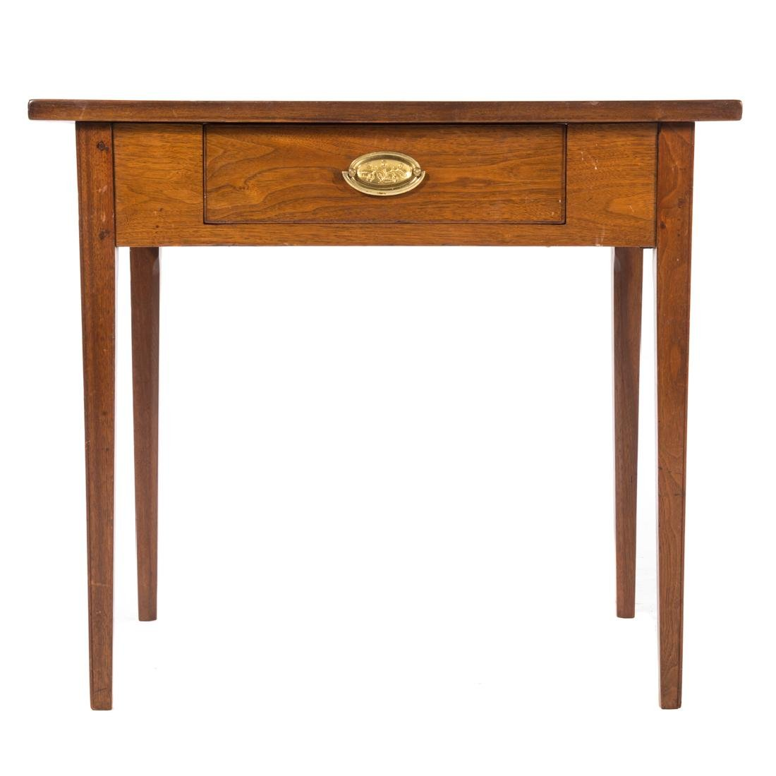 Federal walnut table