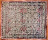 Antique Lavar Kerman carpet approx 103 x 125