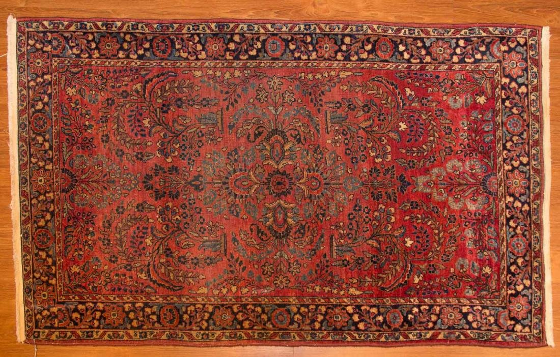 Antique Sarouk rug, approx. 3.6 x 5.6
