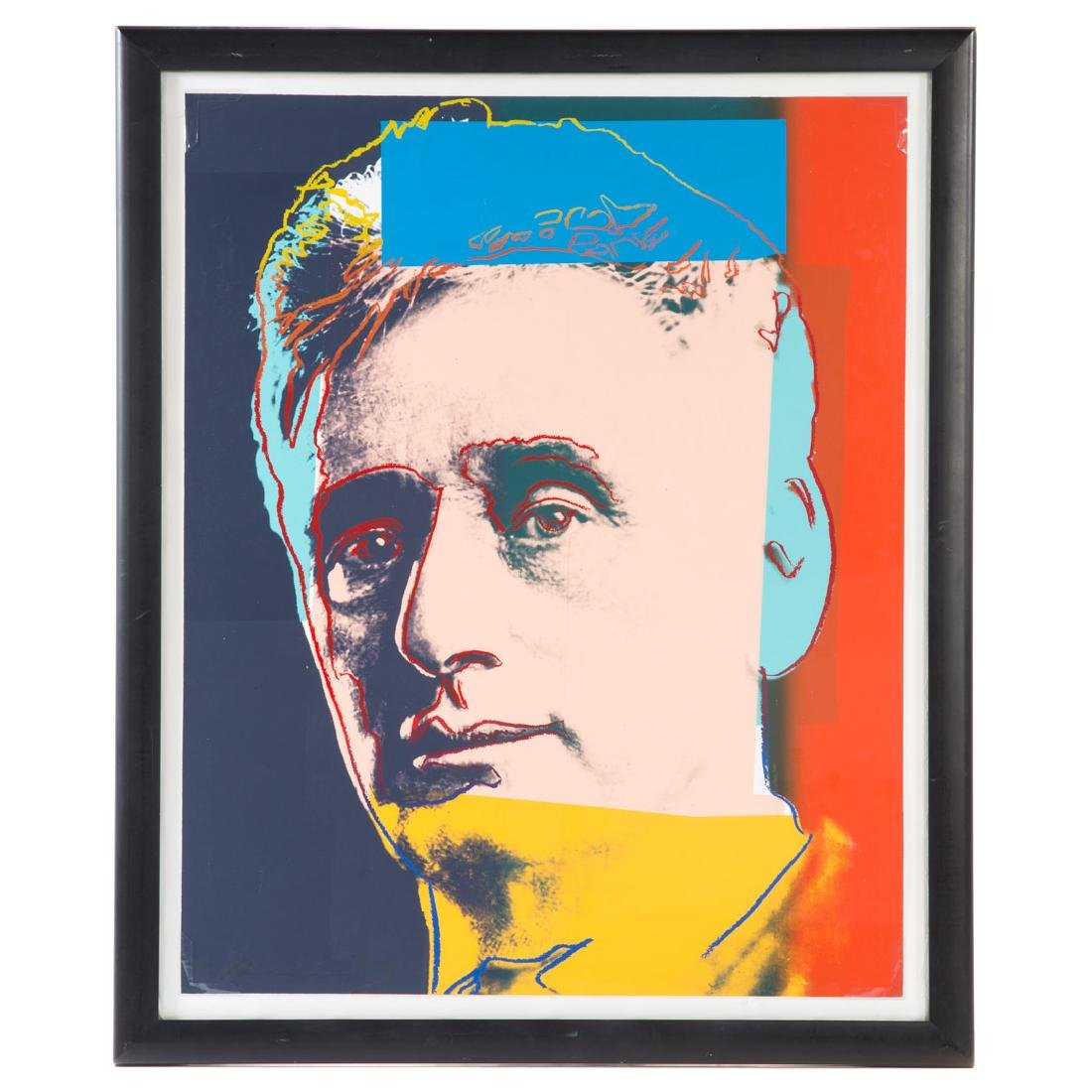 "Andy Warhol. ""Louis Brandeis,"" serigraph"