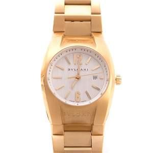 A Lady's 18K Bulgari Ergon Wrist Watch