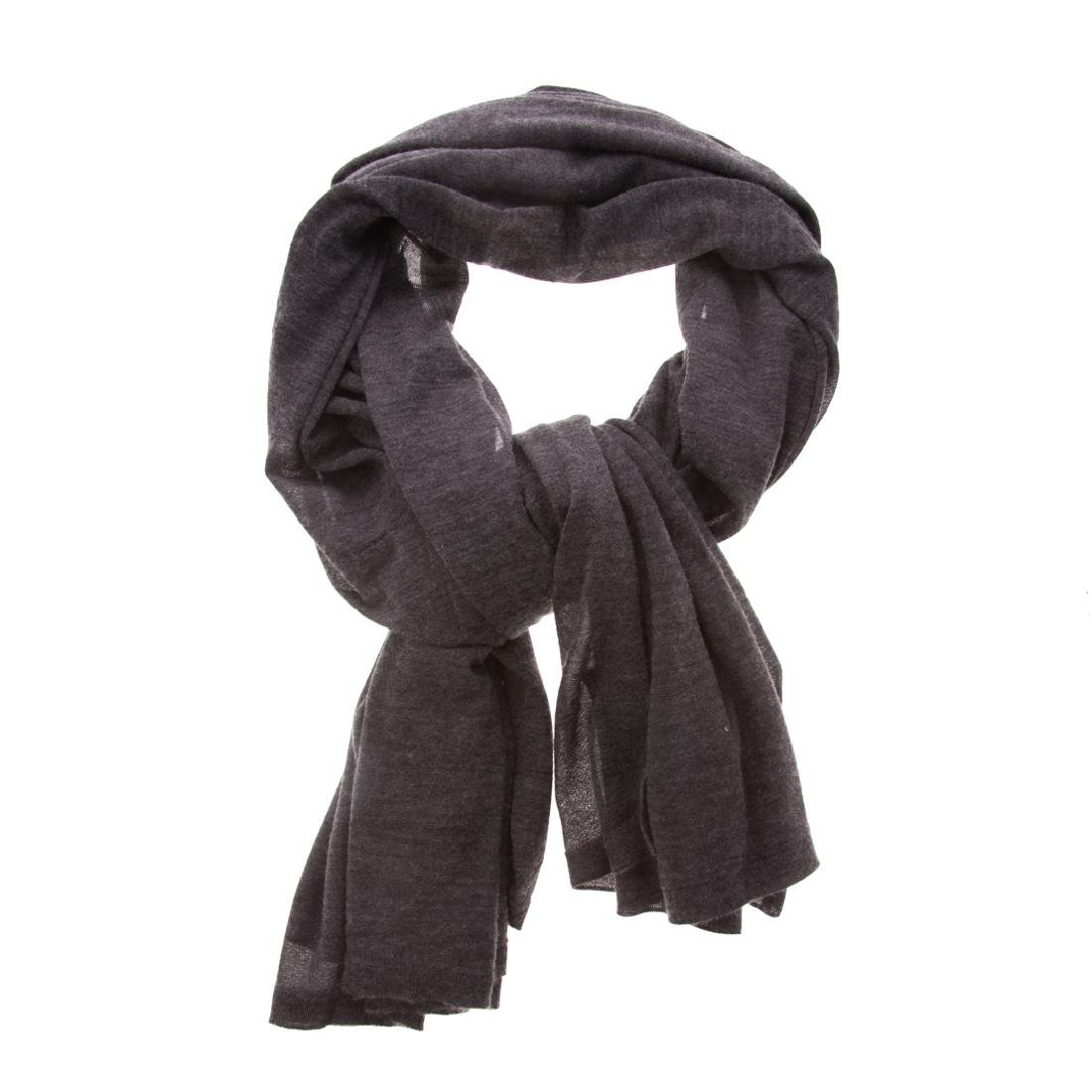 A Hermès Cashmere & Silk Grey Scarf