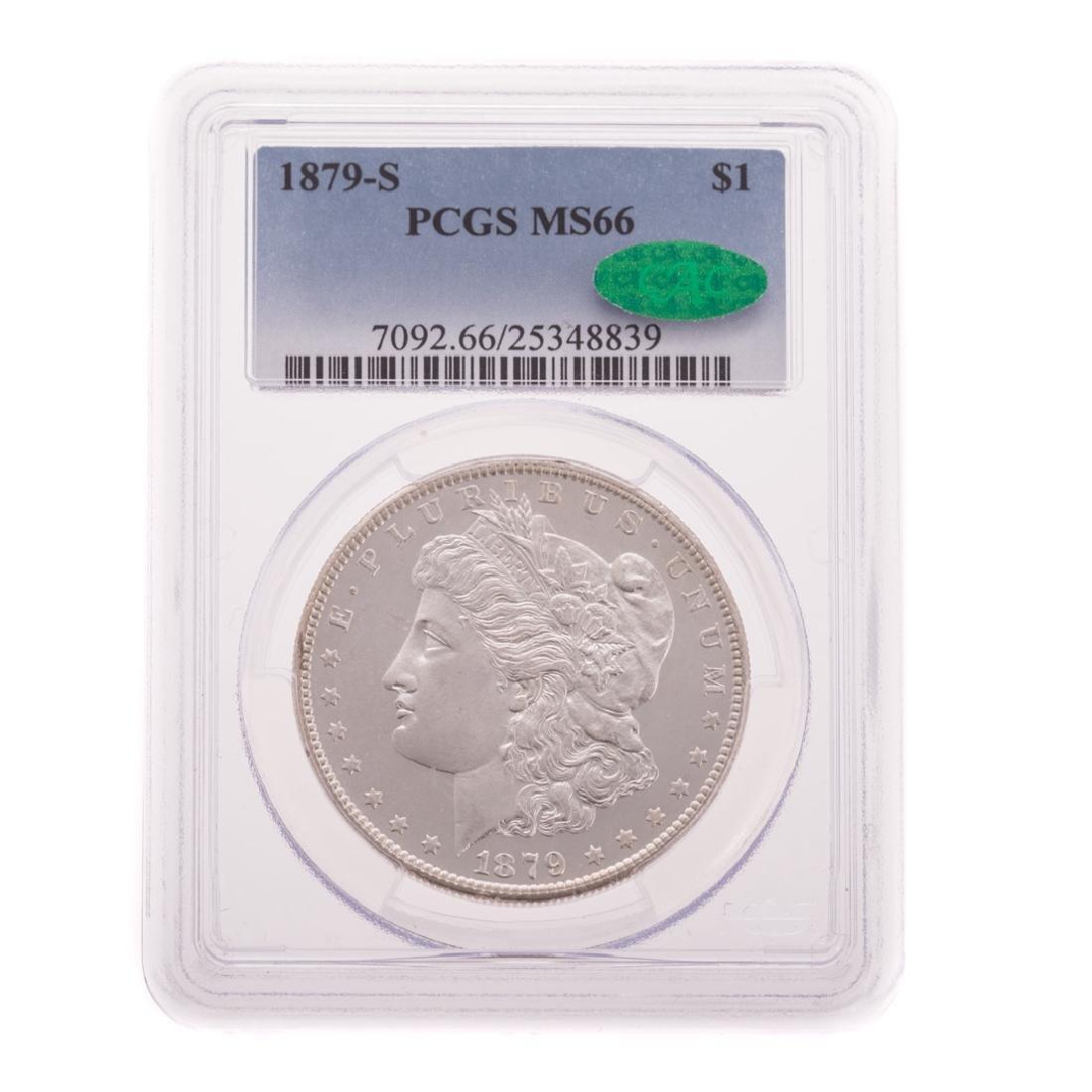 [US] 1879-S PCGS MS66 CAC Morgan Dollar