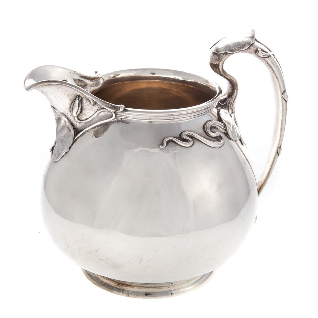 Art Nouveau sterling pitcher by Whiting