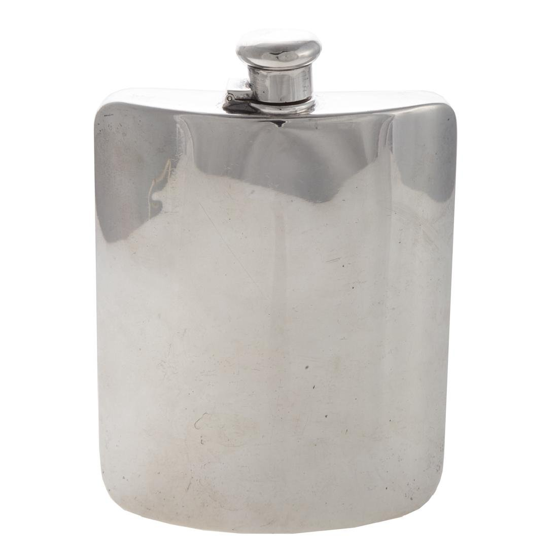 Tiffany & Co. sterling whiskey flask