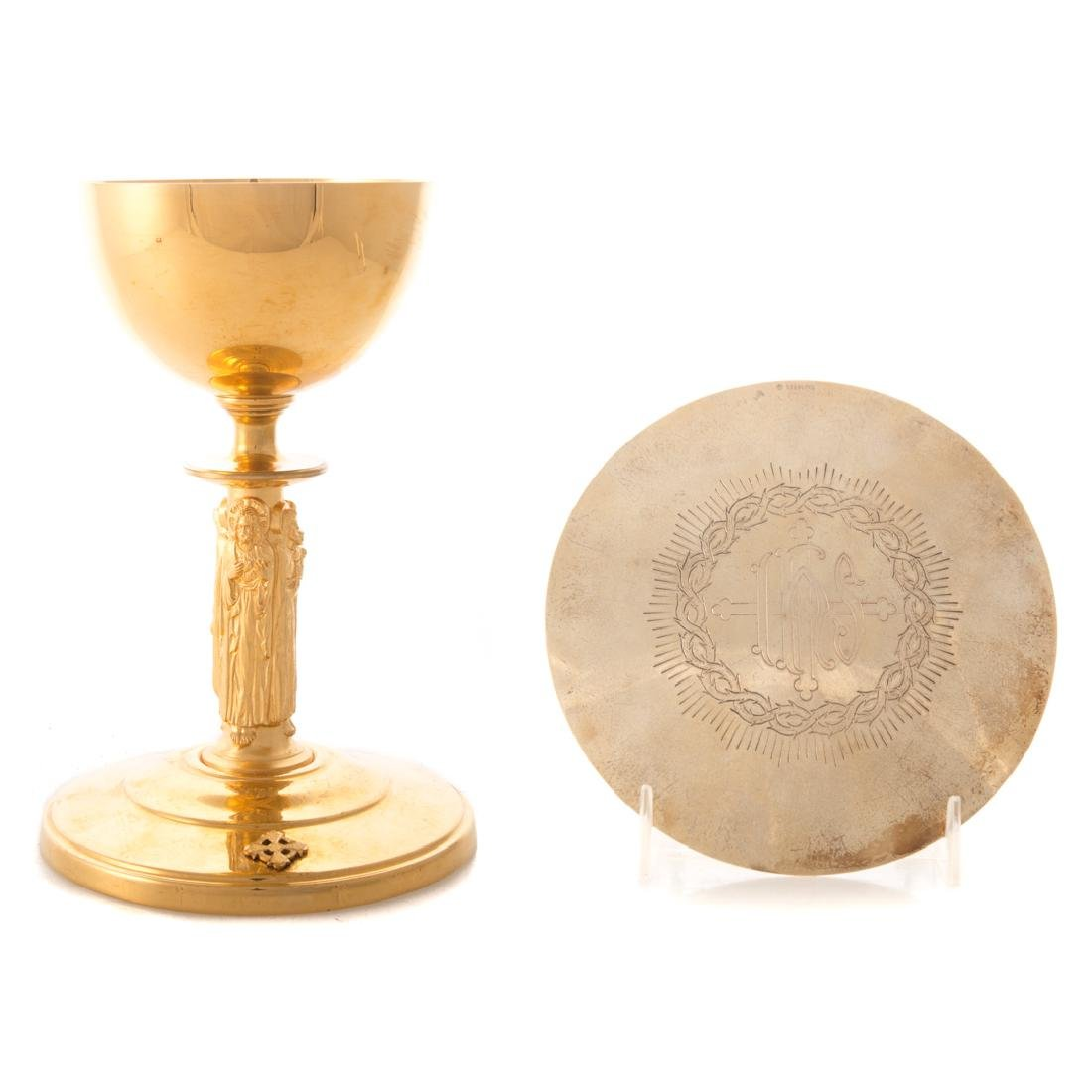 Chalice with sterling paten