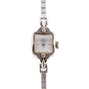 A Ladys Hamilton Dress Watch in 14K Gold