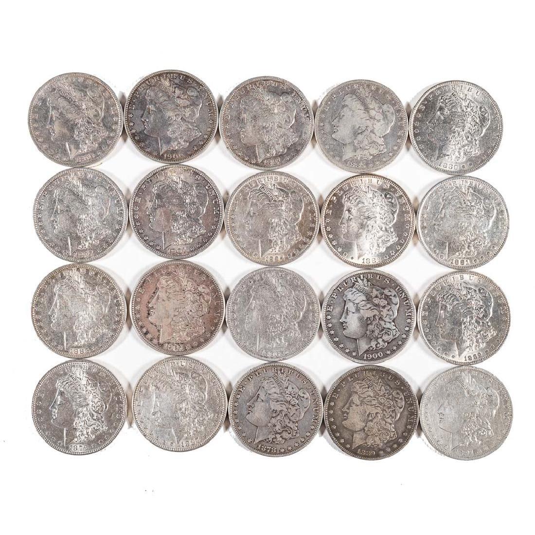 [US] 20 Different Morgan Silver Dollars