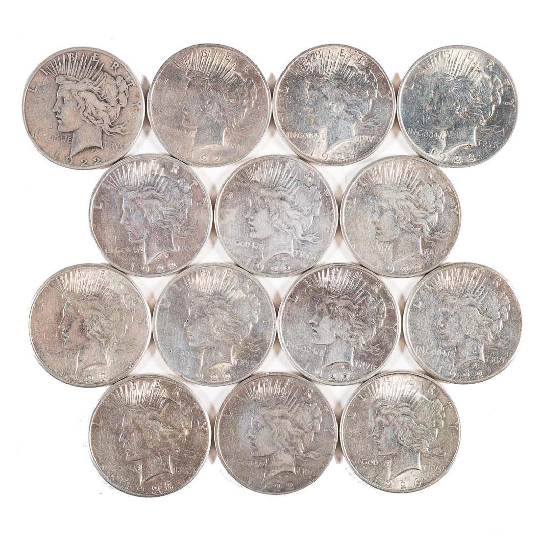 [US] 14 Peace Dollars