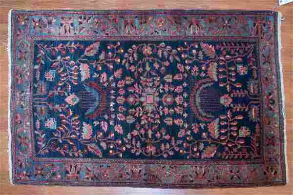 Antique Feraghan Sarouk rug, approx. 3.3 x 4.11