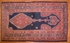 Antique Afshar rug approx 36 x 511