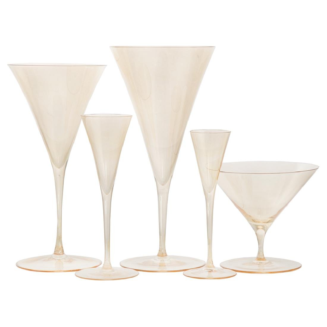 Lobmeyr Ambassador gold lustre glassware