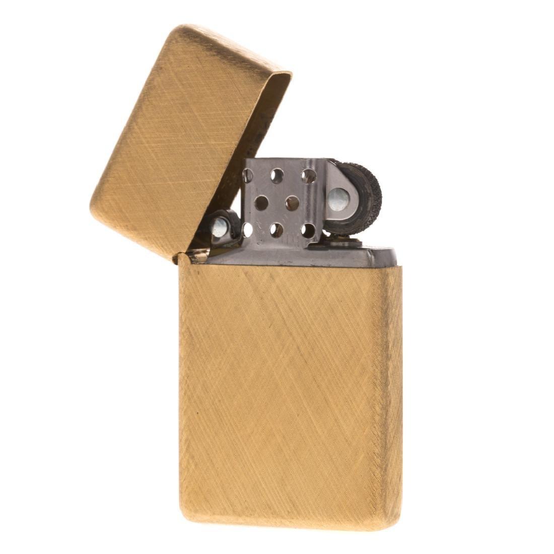 A Rare 18K Buccellati Zippo Lighter - 2