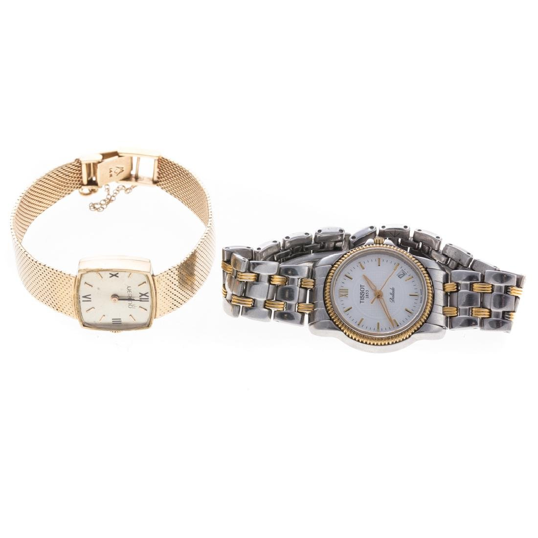 A Lady's 14K Merano & Two Tone Tissot Watches