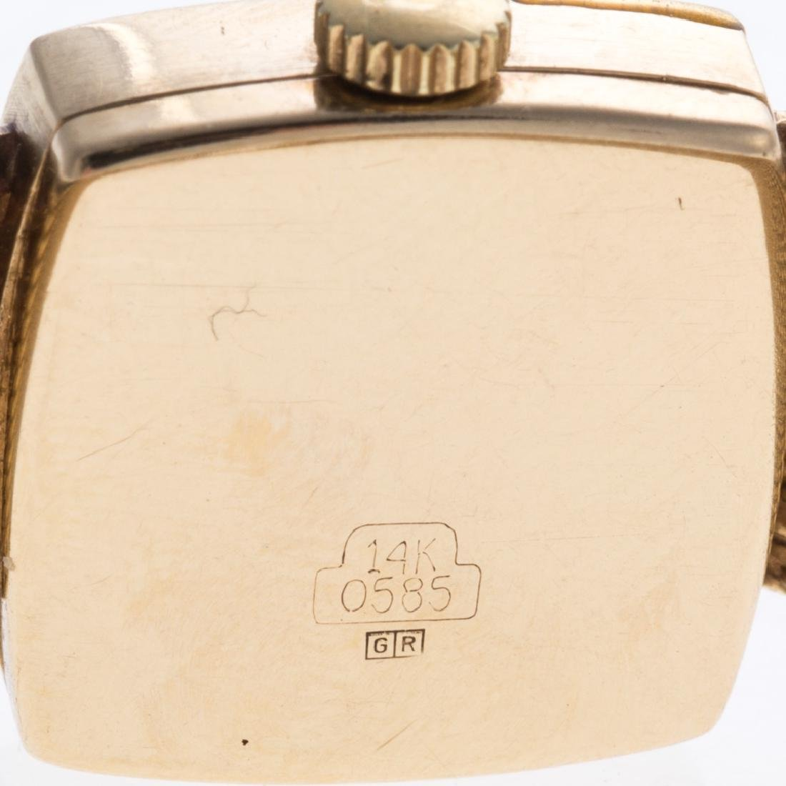 A Lady's 14K Merano & Two Tone Tissot Watches - 4