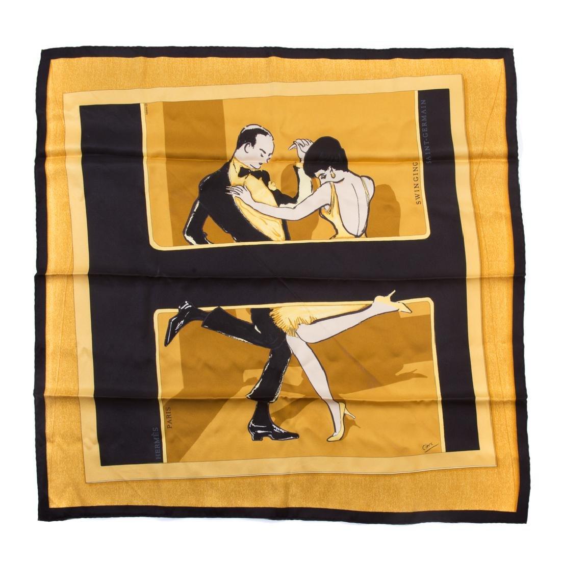 "A Hermès ""Swinging"" Scarf 70 - 2"