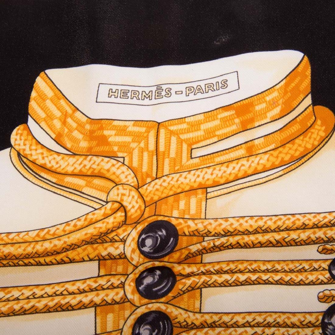 "A Hermès ""Brandebourgs"" Scarf 70 - 4"