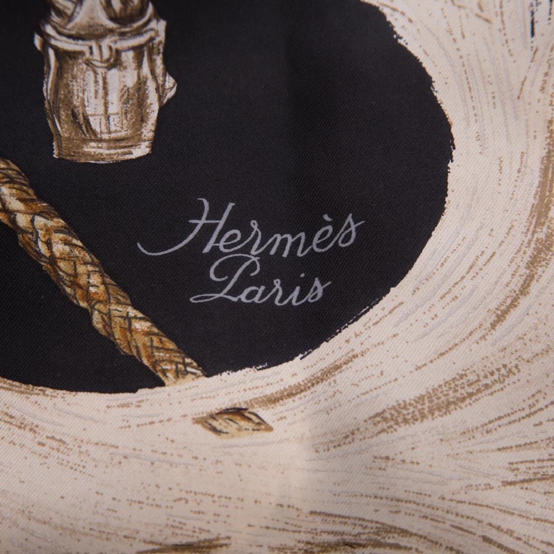 "A Hermès ""A Propos de Bottes"" Scarf 90 - 4"